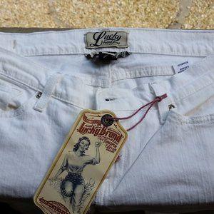Lucky Brand White (chalk) Bootcut Jeans Sz14/32